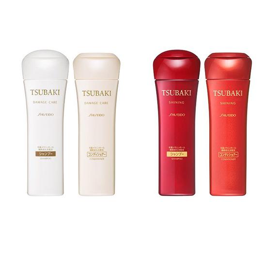 Linha Damage Care e Shining. Alem de shampoo e condicionador tem outros produtos.
