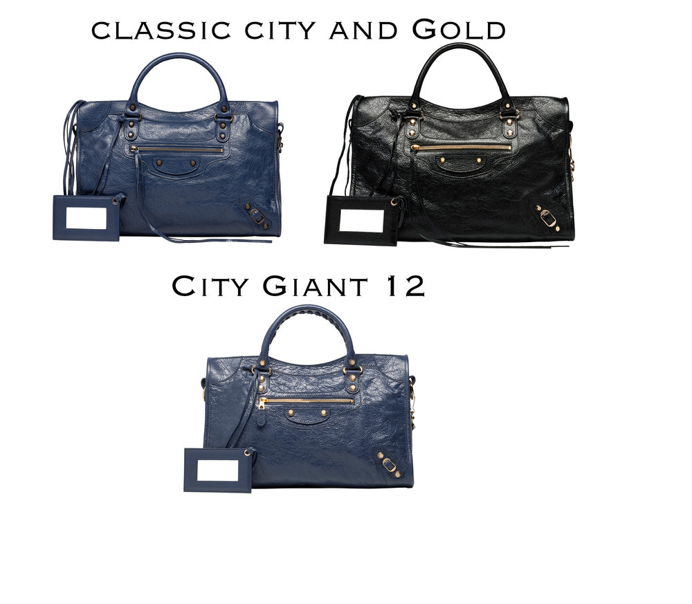 Ambas as city classic e gold/silver possuem couro no zipper. Ja a giant não..